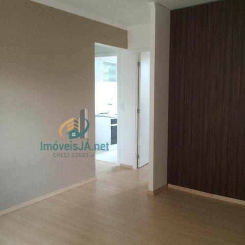 Apartamento Localizado No Condomínio Santa Rita, Brás, Centro Sp, Possui 50m2 - 350