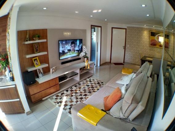 Apartamento 03 Quartos Com Lazer Completo No Parque Das Castanheiras. - 18384