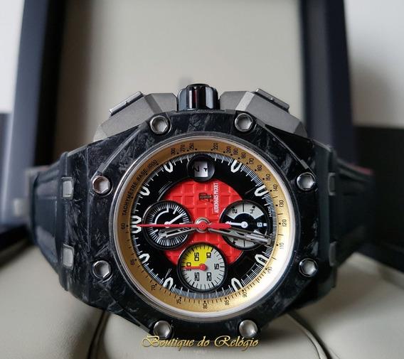Relogio Eta - Modelo Cronograph Grand Prix Carbon - 44mm