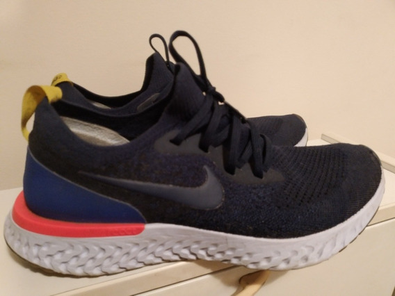 Tênis Nike Epic React Flyknit Corrida De Rua Running 9,5us