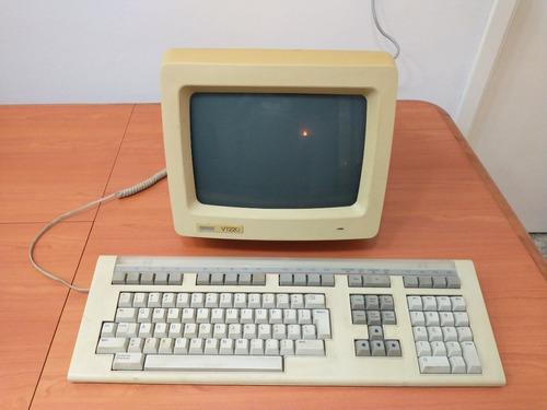Imagen 1 de 6 de Computadora Terminal Dec Vt220 Vintage Colección - Lomas!!!