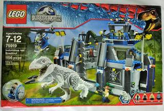 Lego 75919 Jurassic World Indominus Rex Breakout 1156 Pzs