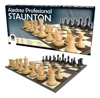Juego De Ajedrez Profesional Staunton Original