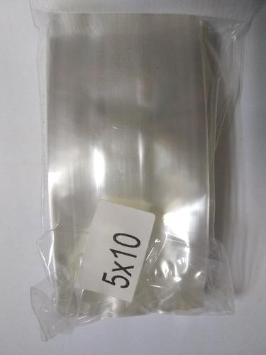 Bolsas De Celofan Polipropileno 5*10 ( 1000 Und