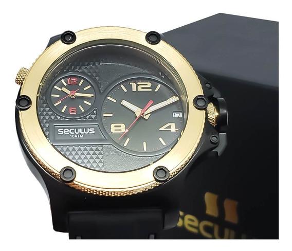 Relógio De Pulso Masculino Seculus 20732gpsvhi1