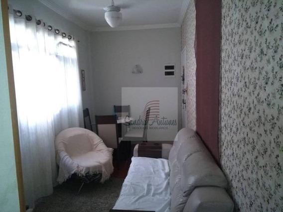 Apartamento Com 1 Dormitório À Venda, 51 M² - Vila Valença - São Vicente/sp - Ap1284
