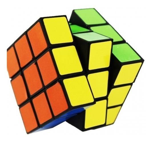 Kit 10 Jogo Cubo Mágico Cubo Maluco 6 Cores