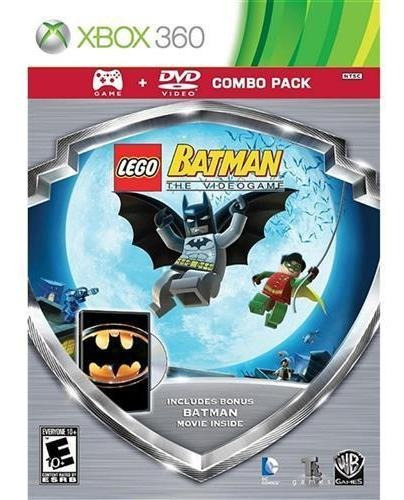 Lego Batman The Video Game Combo Pack Jogo & Filme Xbox 360