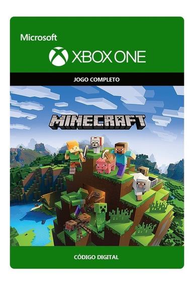 Minecraft Xbox One - Código De 25 Dígitos (s/ Juros)