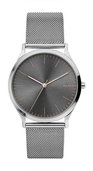 Relógio Masculino Skagen Jorn Prata - Original