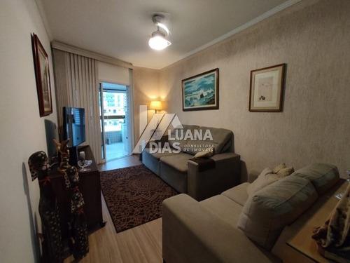 Apartamento Alto Padrão A Venda No Bairro Tupi - Praia Grande, Sp - Dg91184