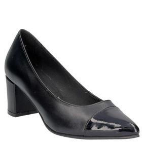 Zapato Casual Pollini Mujer Negro - 4747