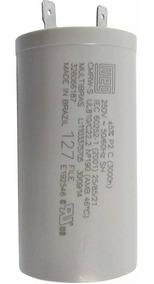Capacitor Permanete 25 Uf 250v Weg Cmlw Motor 4 Pino