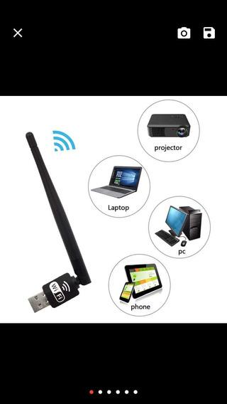 Elisona Lan Sem Fio 150 Mbps 3db Antena Usb Wifi Receptor Ad