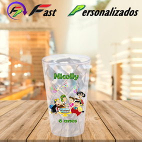 20 Copos Twister 500ml Transparente Chaves