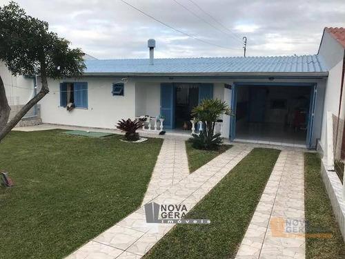 Casa Com 3 Dormitórios À Venda, 88 M² Por R$ 225.000,00 - Balneario Sereia Do Mar - Arroio Do Sal/rs - Ca0014