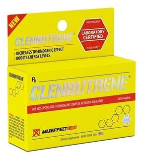 Clenbutrene Queima Gordura + Diurético 60tabs Maxeffect Usa
