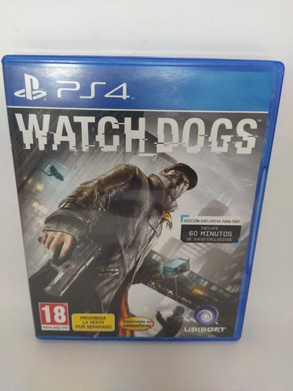 Jogo Ps3 Watch Dogs Mídia Física Usado