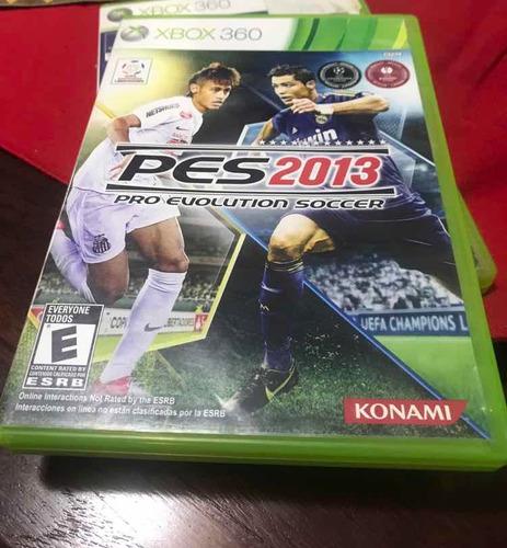 Imagen 1 de 2 de Pes 2013 Xbox 360 Físico !!!