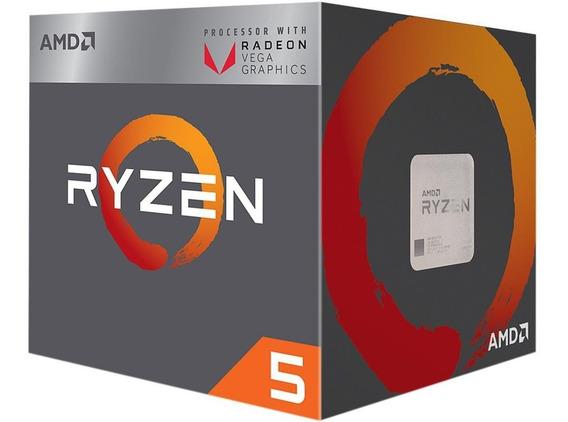 Processador Amd Ryzen 5 2400g Com Vídeo Radeon Rx Vega 11