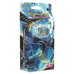 Cartas - Pokemon Sol E Lua 9 Deck - Uniao De Aliados - Blast