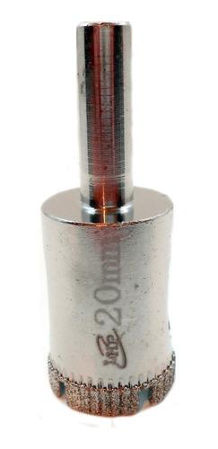 Imagen 1 de 6 de Mecha Diamantada 20mm Vidrio Cerámica Mármol Porcelanato