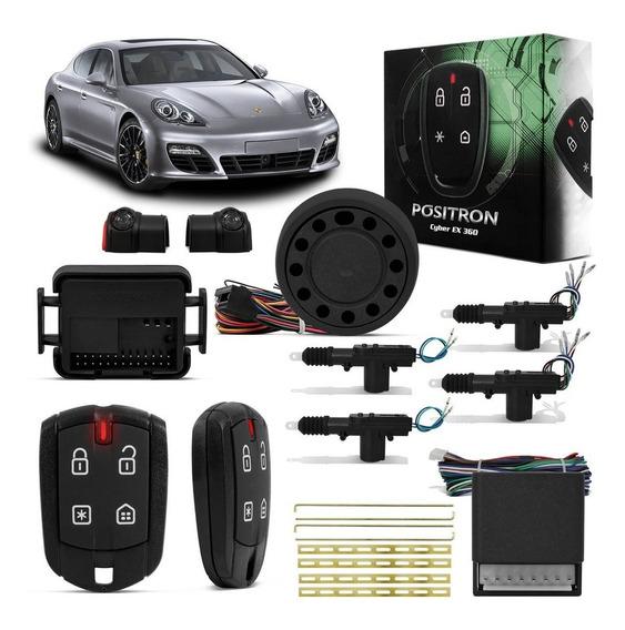 Kit Alarme Para Carro Pósitron Cyber Ex360 + Trava 4 Portas
