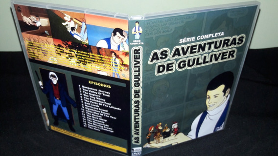 Dvd As Aventuras De Gulliver ( Box Digital )