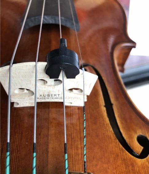 Surdina Abafador Para Violino E Viola