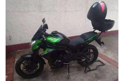 Kawasaki Er6n 2016 Negro Verde