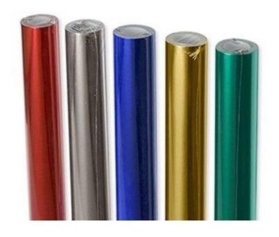 Papel Glace Glasé Luma Rollo 5 Metros X 40 Cm Color Violeta