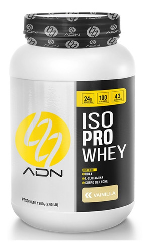 Proteina Aislada Iso Pro Whey 1.200kg ¡¡100% Original Adn!!