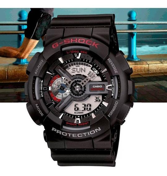 Relógio Casio G-shock Analógico Digital Ga-110-1adr Preto