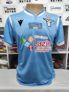 Camisa Lazio Final Super Copa 2019 Immobile 17 À P/ Entrega