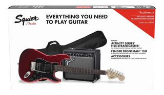 Paquete Guit. Eléctrica Squier Stratocaster Hss 0371824009