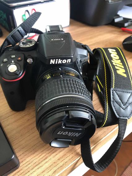 Nikon D5300 + 64 Gb + 3 Baterias + Carregador + Estojo