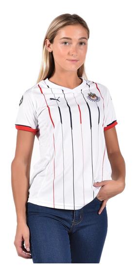 Puma Playera Chivas Para Mujer Blanco 762575 01