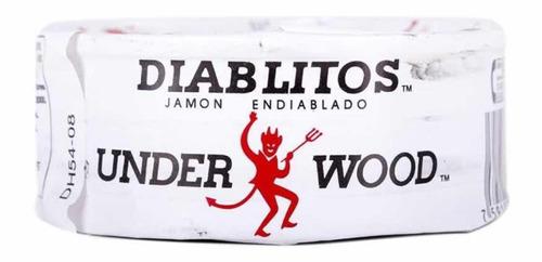 Imagen 1 de 2 de Jamon Enlatado Venezolano Importado Underwood® Diablitos