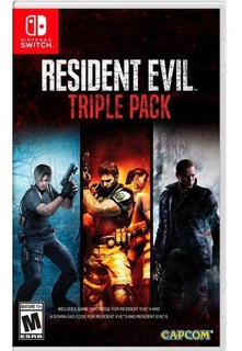 ..:: Resident Evil Triple Pack ::.. Para Switch En Sonic Ga