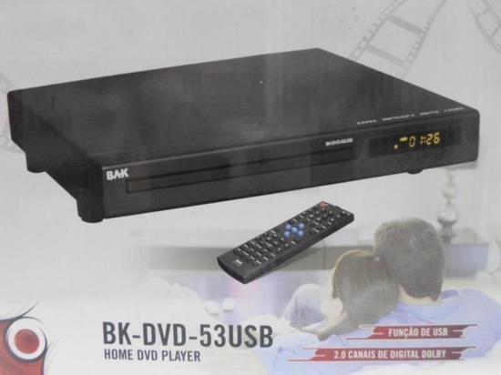 Dvd Bak Bk-53 Usb/sd Preto Bivolt