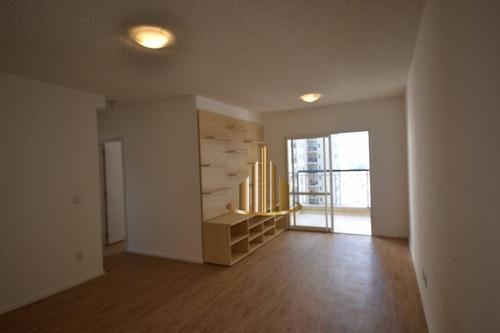 Apartamento Com 3 Dormitórios Sendo 1 Suíte À Venda, 87m² Por R$ 650.000 - Centro - Barueri/sp - Ap0590