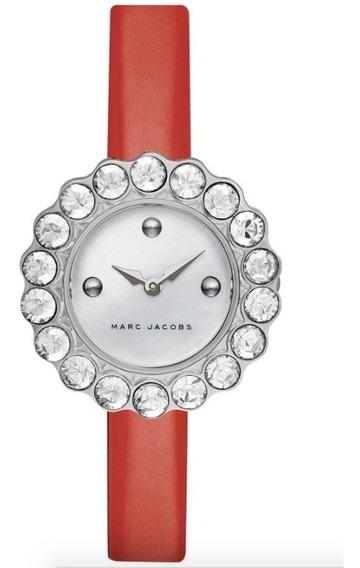 Reloj Marc Jacobs, Tootsie Red, 100% Original!!