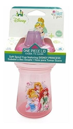 Vaso Anti-derrame Princesas Disney 9 Oz / 270 Ml