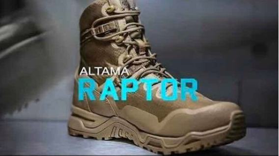Botas Táctica Altama Raptor
