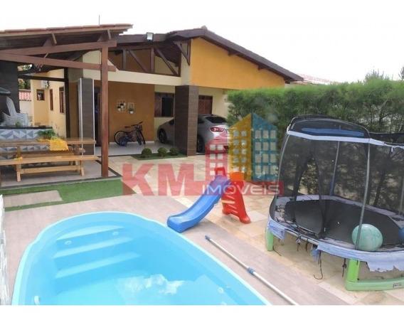 Vende-se Linda Casa Com Piscina No Bairro Costa E Silva - Ca2637