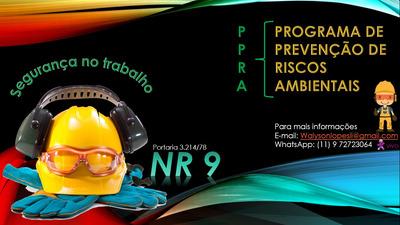 Ppra - Programa De Prevenção De Riscos Ambientais, Em Pdf
