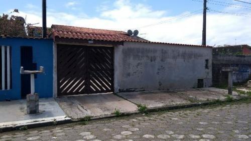 Casa À Venda No Balneário Gaivota - Itanhaém 3582   Sanm