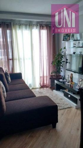Imagem 1 de 12 de Apartamento Residencial À Venda, Vila Homero Thon, Santo André. - Ap1006