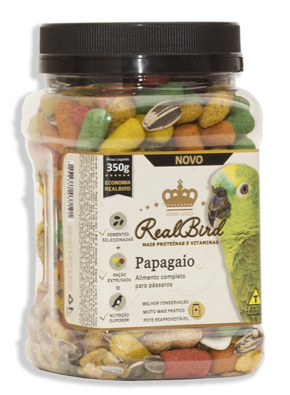 Realbird Papagaio - 350 G