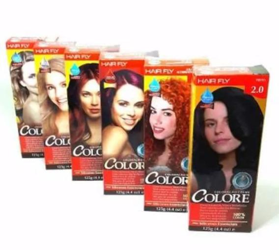 Coloração Colore Da Hair Fly Kit 10 Tubo 50g